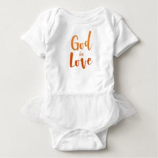 God is Love – Spiritual and Religious Baby Baby Bodysuit