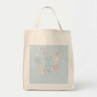 God is Love – Spiritual and Religious Tote Bag