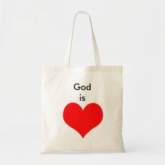 God is Love Tote Bag