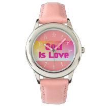 God Is Love Wristwatch