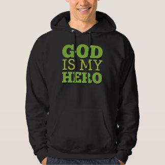 God is my hero sweatshirt