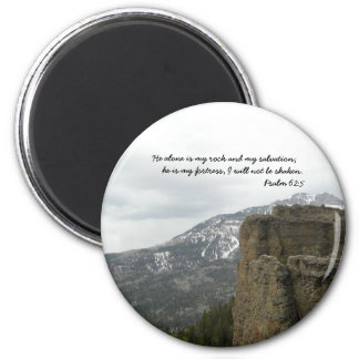 God is my Rock & Salvation Magnet