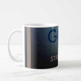 God is my strenght Coffee Mug