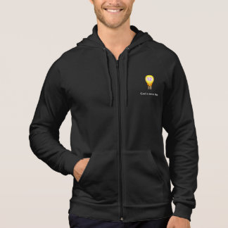 God is never late AA Alcoholics Anonymous Slogan Hoodie