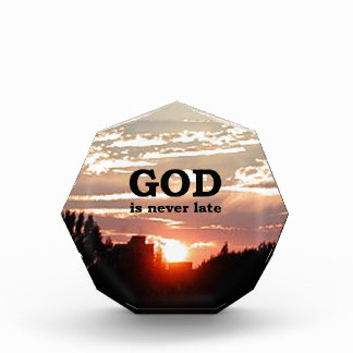 GOD is Never Late Awards