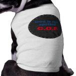 God is not spelled GOP Doggie Shirt