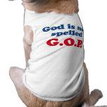 God is not spelled GOP Doggie Tee Shirt