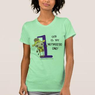 God is Nu'moo'ro Uno! T-shirts