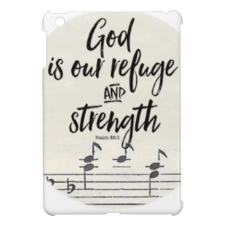 God is our Refuge and Strength iPad Mini Cover