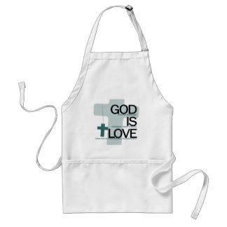 God is....png adult apron