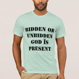 God is present shirt