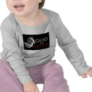 God is Pro-Life T Shirts