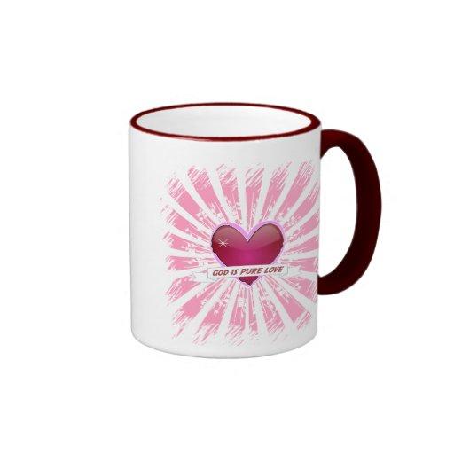 God is Pure Love Coffee Mugs