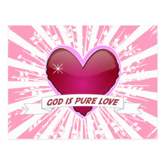 God is Pure Love Postcards