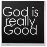 God is really Good Printed Napkins