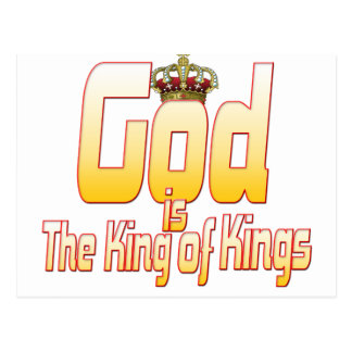 God is The King of Kings Postcard