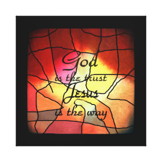God Is The Trust Canvas Print