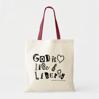 God is ... tote bag