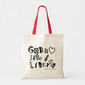 God is ... tote bag