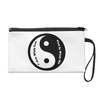 God Is With Me Wristlet