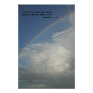 God is with us, poster