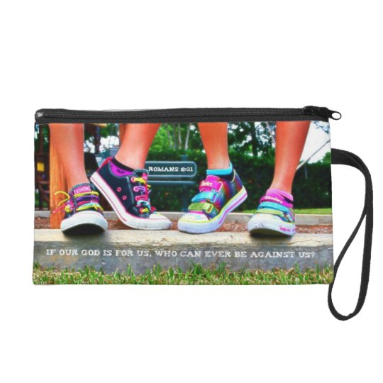 God is With Us Wristlet Purse