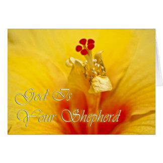 God Is Your Shepherd Card