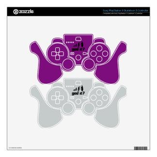 God it? PS3 controller skins