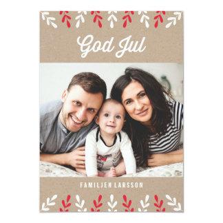 God Jul | Julkort Card