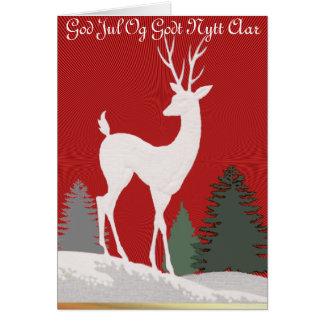 God Jul Og Godt Nytt Aar Card