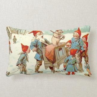 God Jul - Performing Pig - Lumbar Pillow
