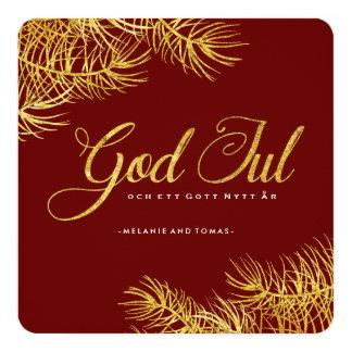 God Jul Photo Cards