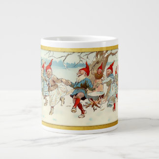 God Jul - Swedish Post Card 3 Giant Coffee Mug