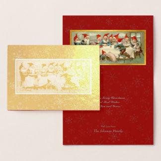 God Jul - Swedish Post Card Christmas Art #3