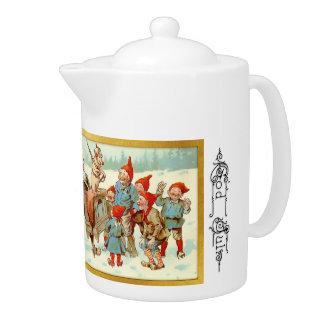 God Jul - Swedish Tea Pot 4