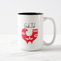 God Jul Two-Tone Coffee Mug