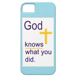 God Knows iPhone 5 Cases