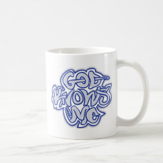 God Knows Me Coffee Mug