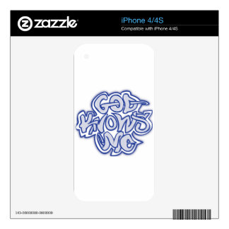 God Knows Me iPhone 4 Skin