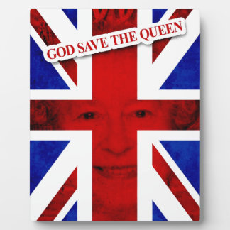 GOD KNOWS THE QUEEN UK Edition Photo Plaque