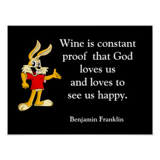 God likes us happy - Print