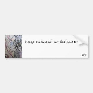 God love forever bumper sticker