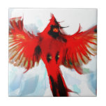 God loved the birds small square tile