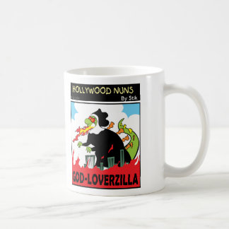 GOD-LOVERZILLA COFFEE MUG