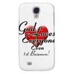 God Loves 1st Basemen! Galaxy S4 Cover