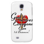 God Loves 1st Basemen! Samsung Galaxy S4 Case