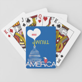 God Loves America Trump Trumpet Deck Of Cards