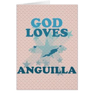God Loves Anguilla Cards