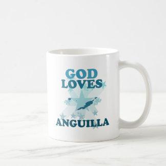 God Loves Anguilla Mug