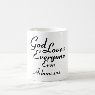 God Loves Arkansans Coffee Mug
